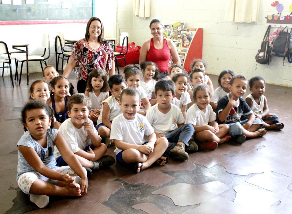 Escola CHUI CRECHE MUNICIPAL - em VILA MATHIESEN, AMERICANA, SP